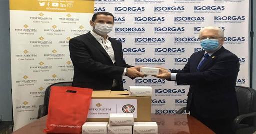 INSTITUTO GORGAS AMPLIARÁ ESTUDIO DE SEROPREVALENCIA CON DONACIÓN DE COBRE PANAMÁ