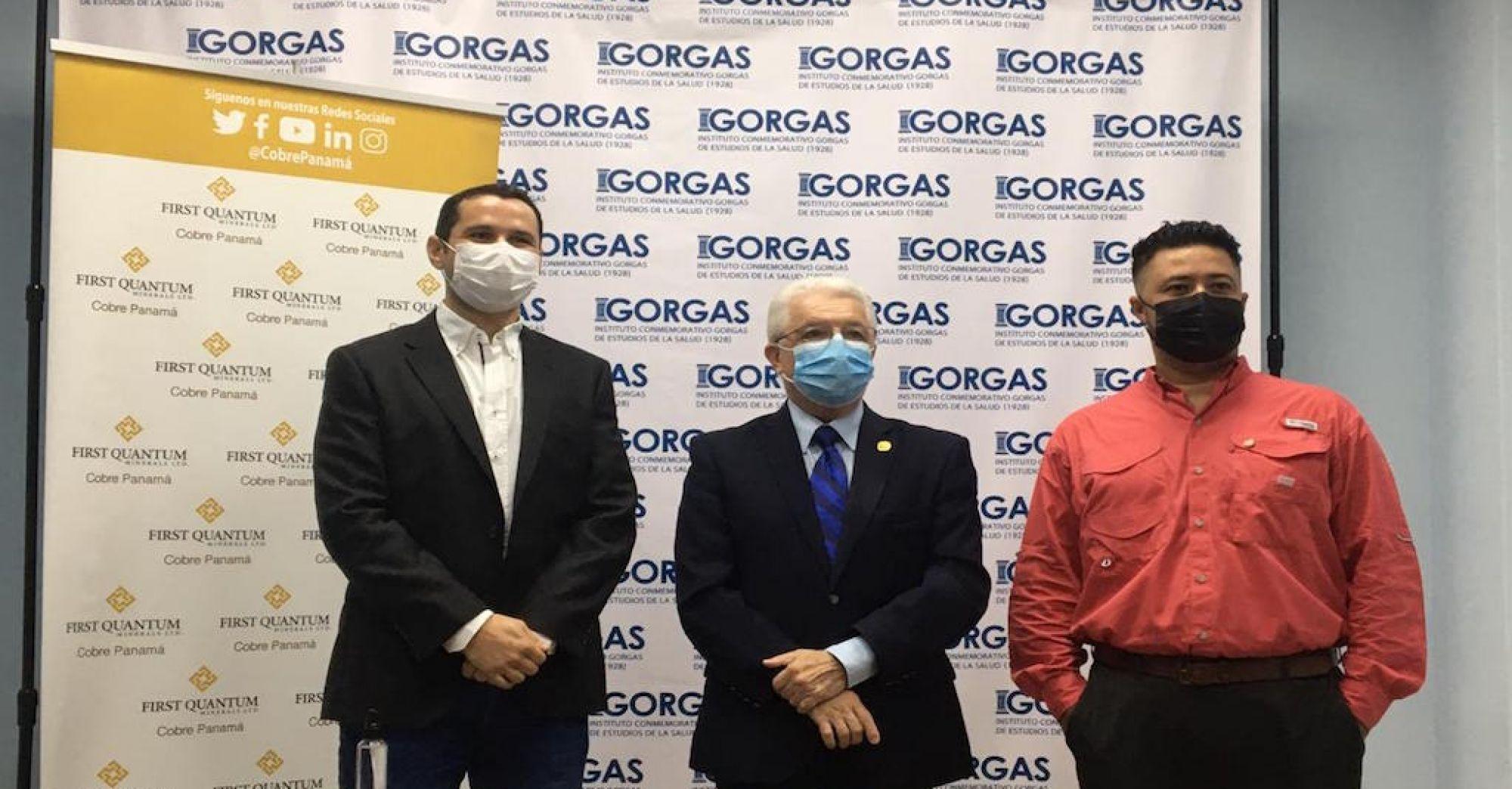 INSTITUTO GORGAS AMPLIARÁ ESTUDIO DE SEROPREVALENCIA CON DONACIÓN DE COBRE PANAMÁ-0